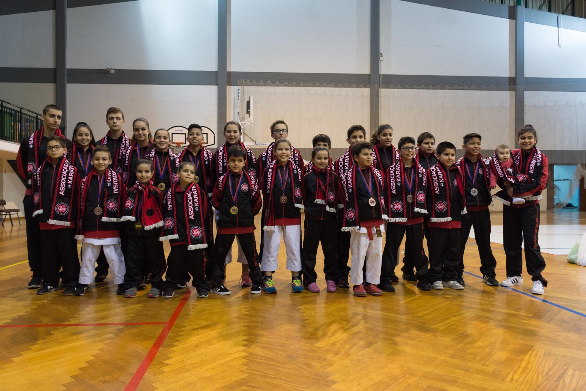 Campeonato Nacional de Karate - Fase Regional de Infantis, Iniciados e Juvenis 2018